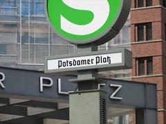 Potsdamer Platz S-Bahn Station, Berlin